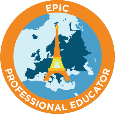 epic professional educator emblem