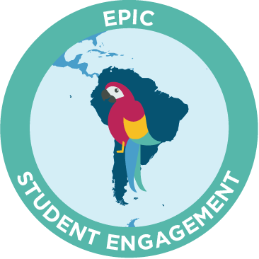 epic student engagement emblem