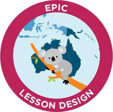 epic lesson design emblem