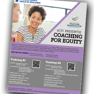 CTI Presents:  Coaching for Equity