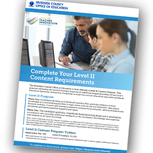 RCOE CTI Offers Level II