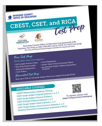 Teacher Test Prep – Center for Teacher Innovation